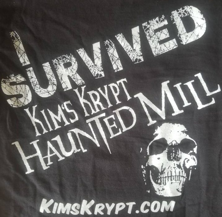 T-shirt Zombie Back